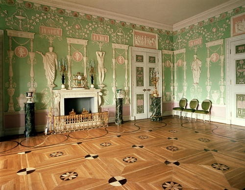 6 Camron designed Private Rooms, Catherine Palace