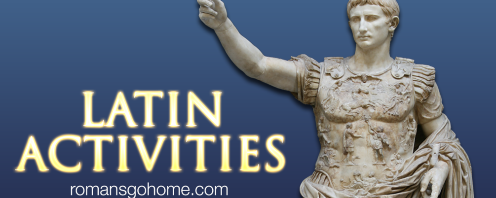 Latin Activities Pack, from 'Romans Go Home'