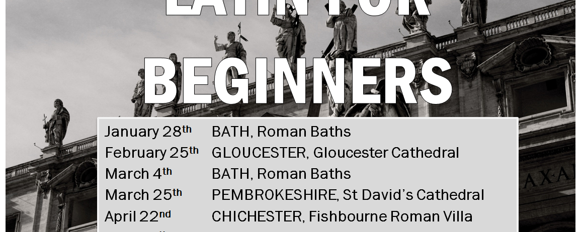 Latin for Beginners. A Touring Course.