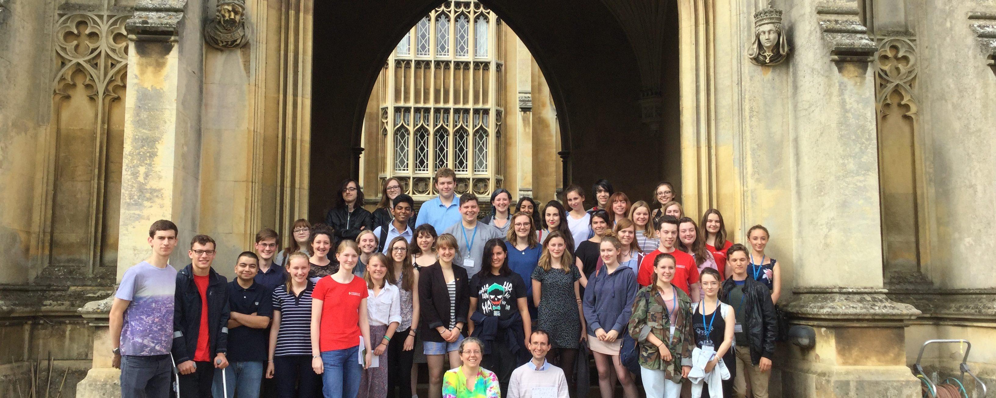 Homerton College Archaeology Summer School, 10 – 14 July, 2017