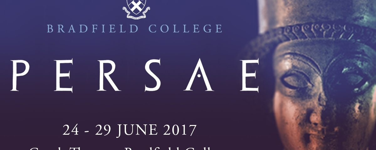 'Persae' at Bradfield College: NOW!