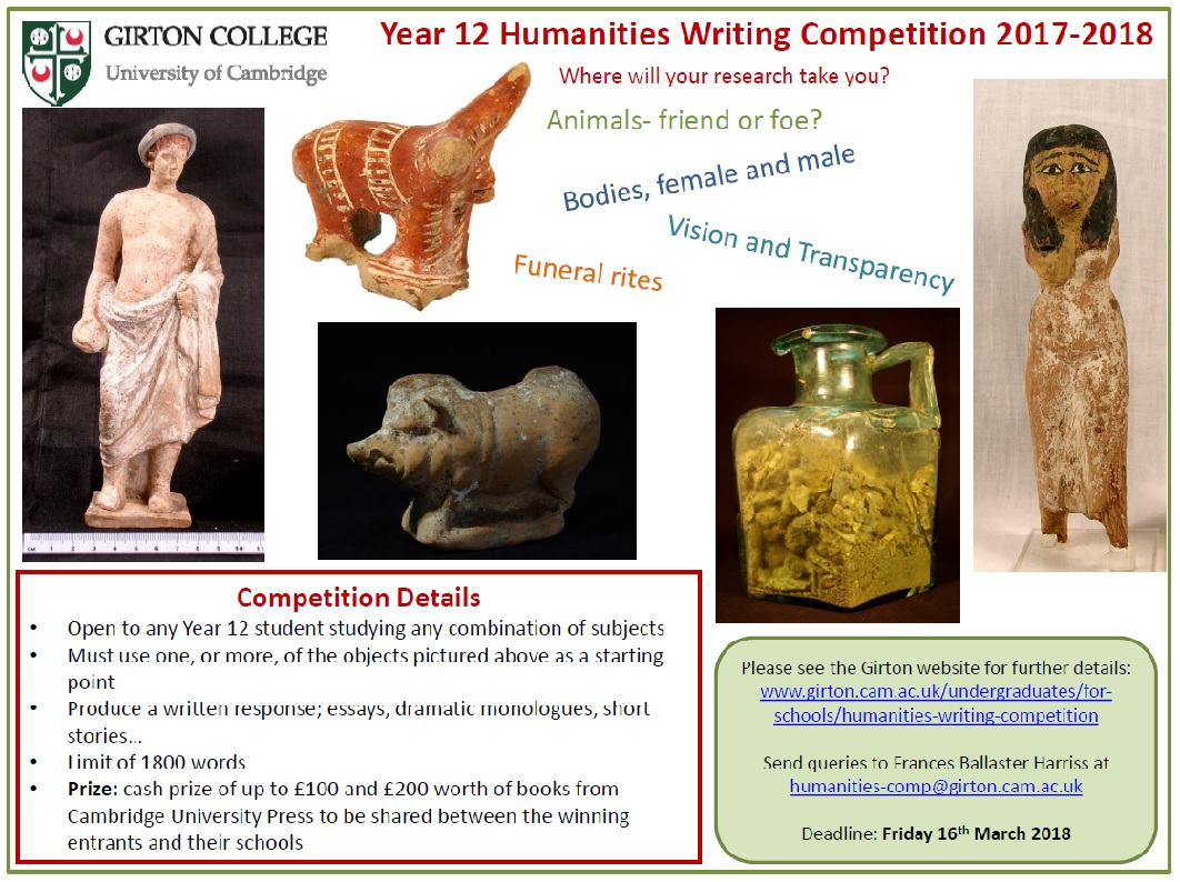 classics essay competition The alexander altmann essay competition in hebrew and jewish  students  are invited to write an essay on any aspect of hebrew and.