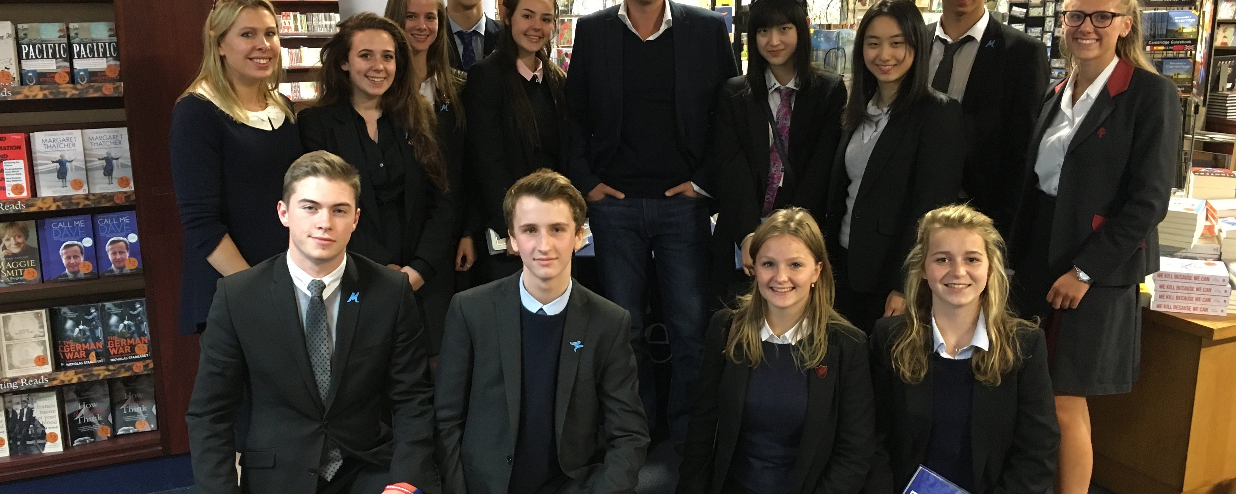 'The Gritty Realities of Ancient Greece', a talk by Michael Scott at New Hall School