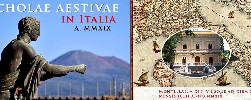 Scholae aestivae in Italia: 4 – 25 Iulii, a. 2019