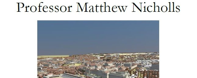 """Reconstructing Rome: A Digital Model of the Ancient City"""