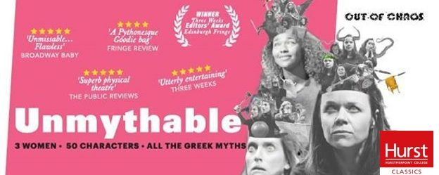 'Unmythable' at Hurstpierpoint College