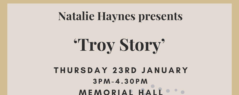 Natalie Haynes Talks at Royal High School, Bath