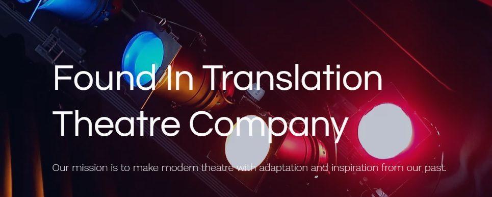'Found in Translation' Theatre Resources