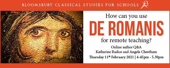 Free Teacher Q&A Session on de Romanis Latin Course