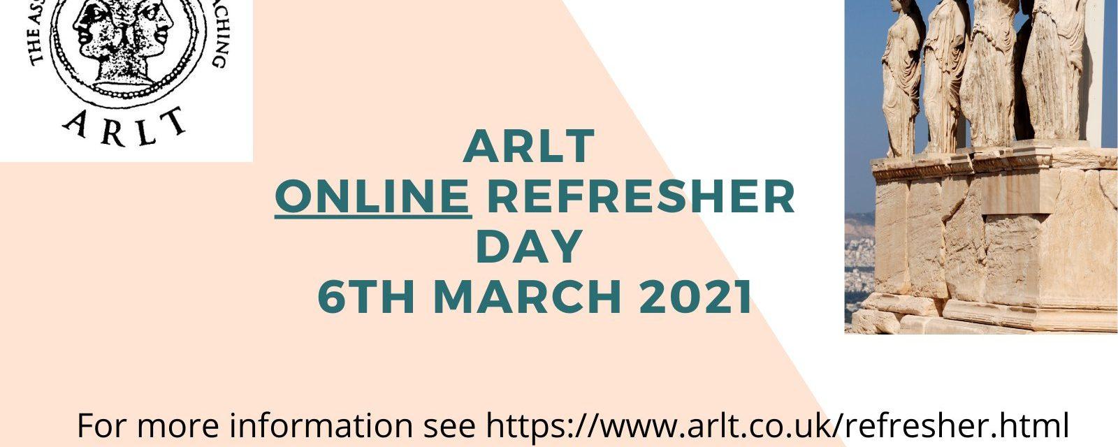 ARLT Refresher Day 2021