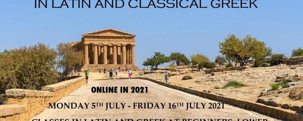 Belfast Summer School in Latin and Classical Greek (Online)